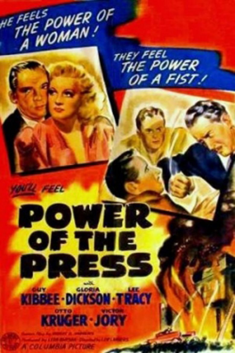 Power of the Press (film) movie poster