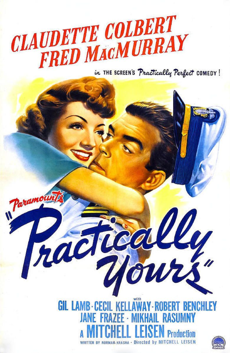 Practically Yours movie poster