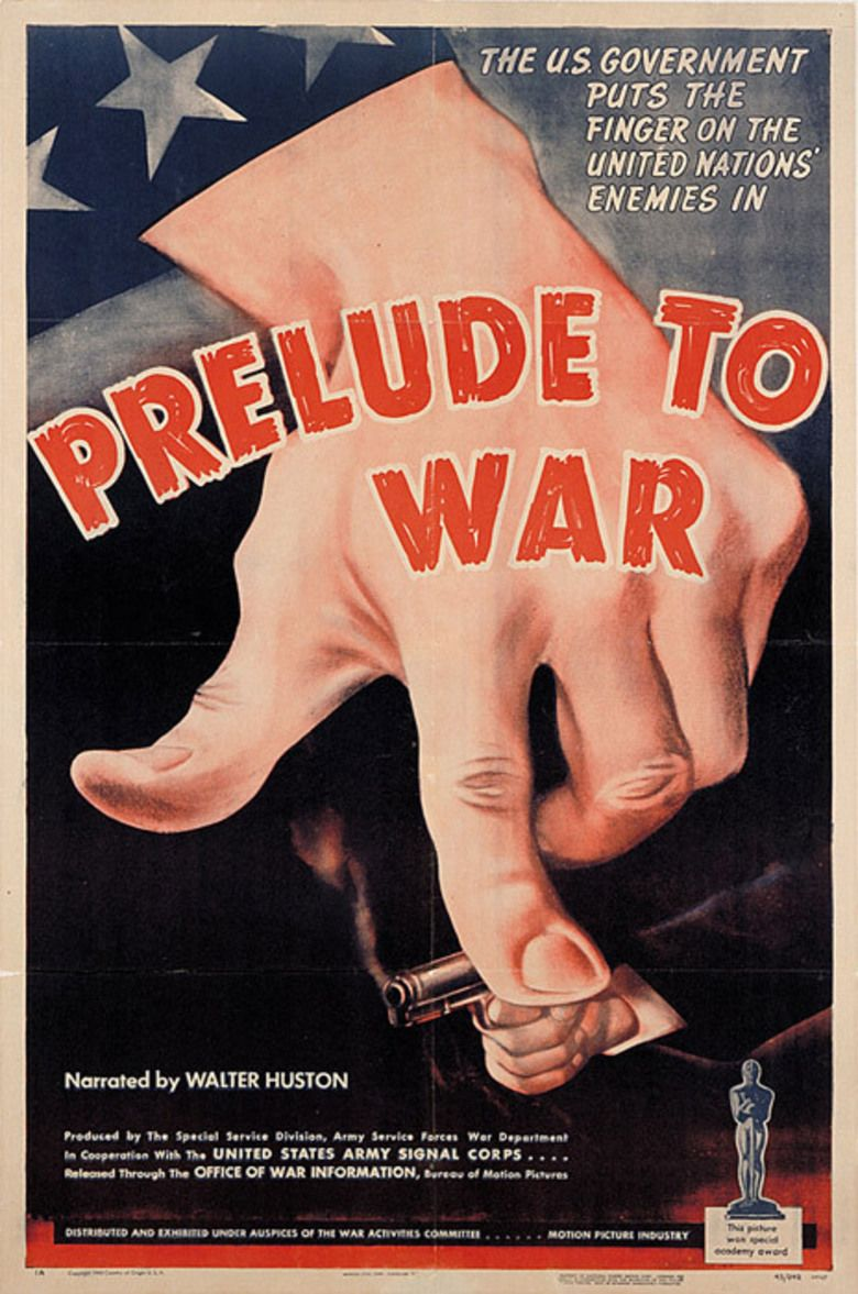 Prelude to War movie poster