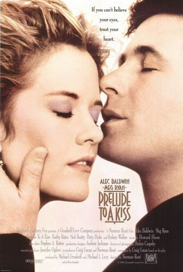 Prelude to a Kiss (film) movie poster