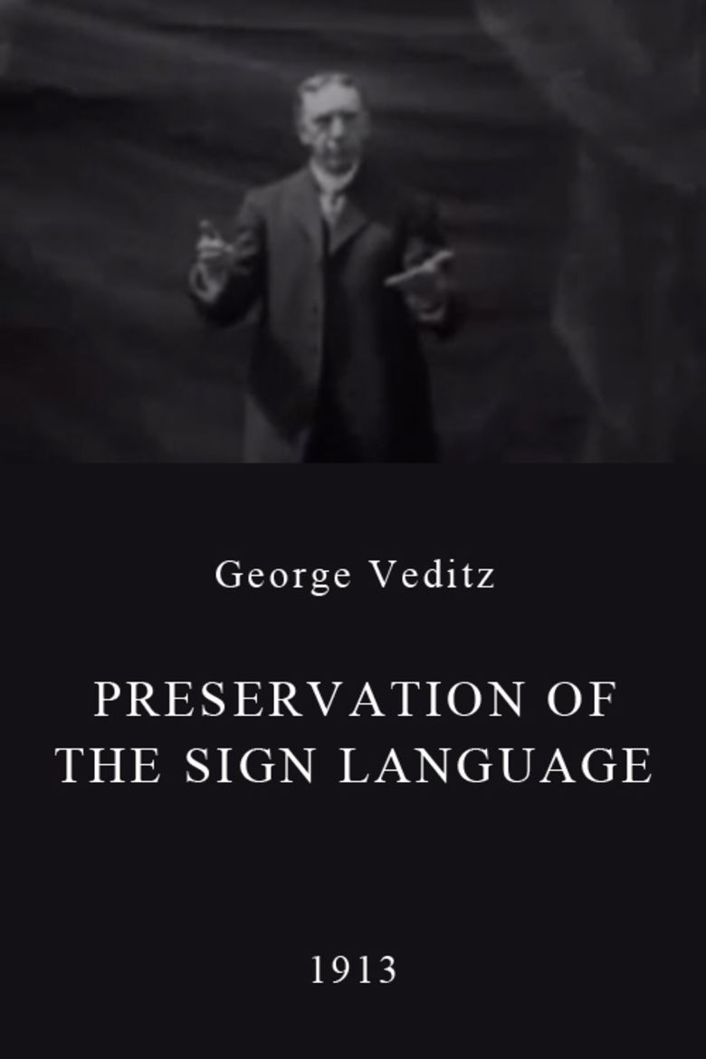 Preservation of the Sign Language movie poster