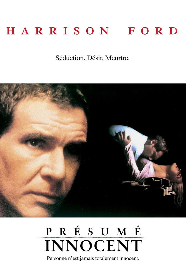 presumed innocent film movie poster - Presumed Innocent Movie