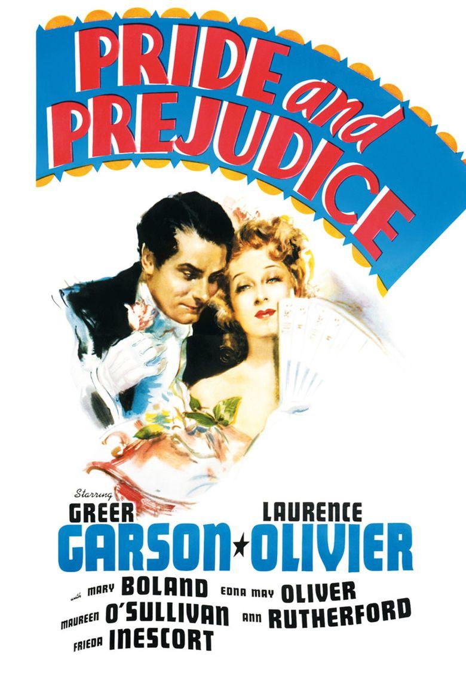 Pride and Prejudice (1940 film) movie poster