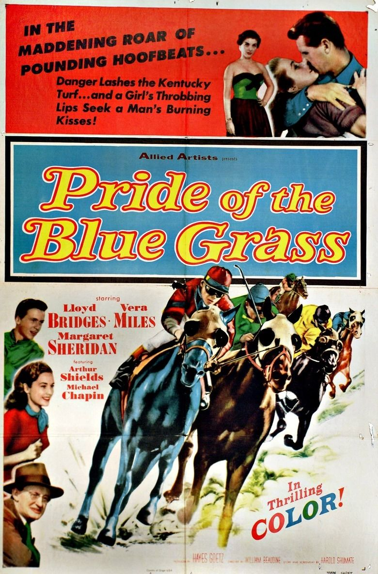 Pride of the Blue Grass (1954 film) movie poster