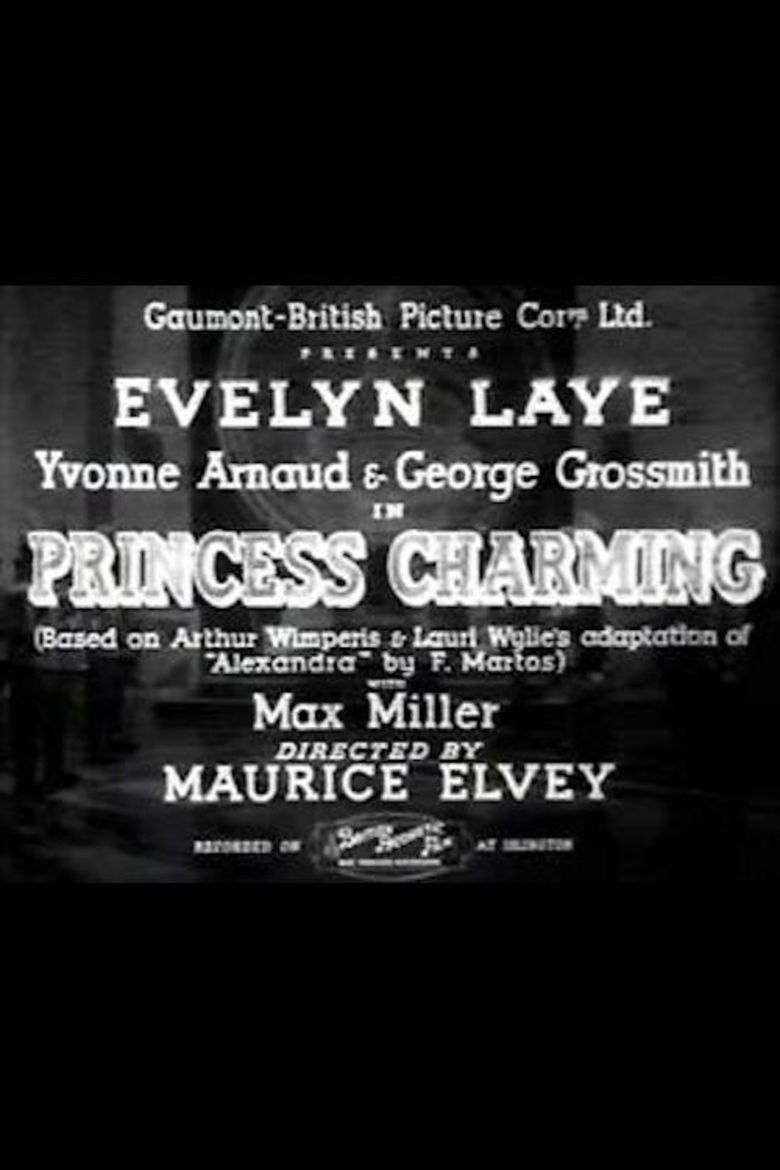 Princess Charming (film) movie poster