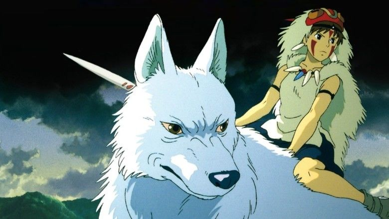 Princess Mononoke movie scenes