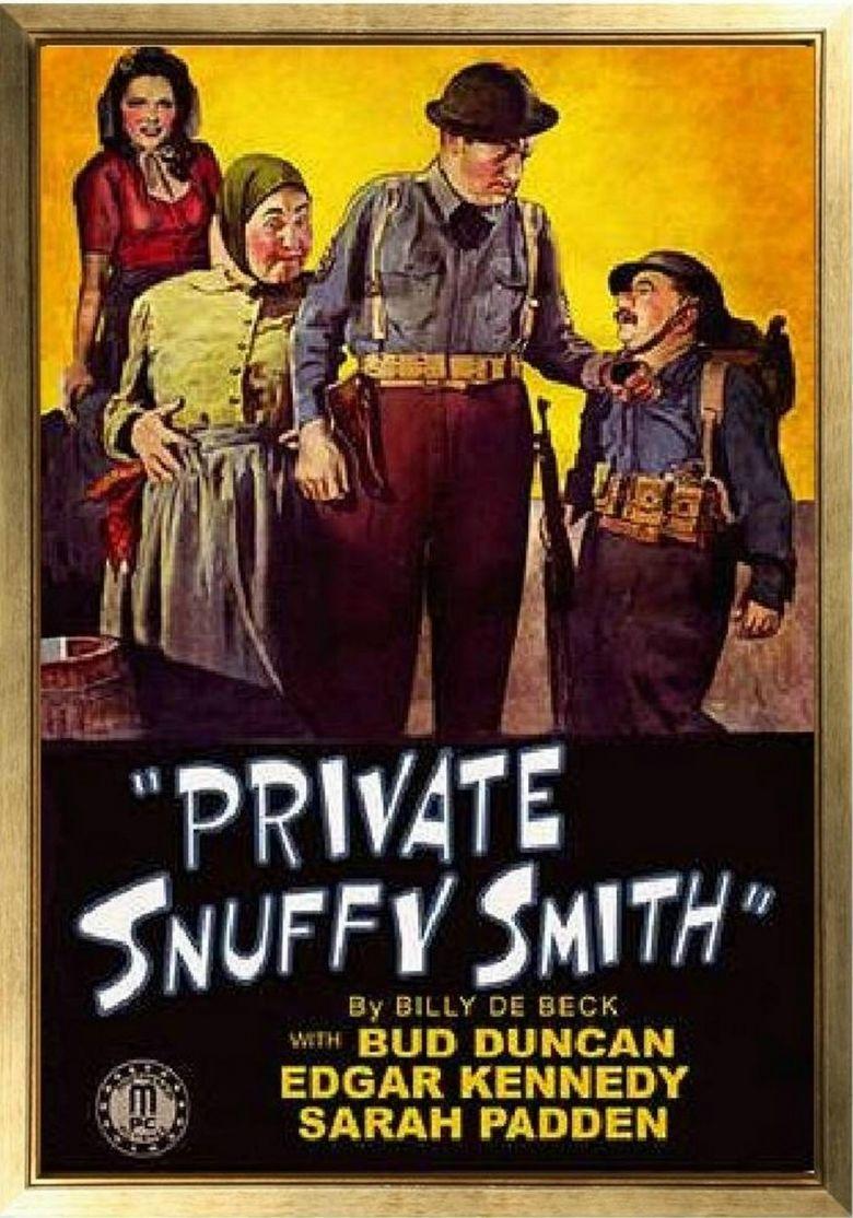 Private Snuffy Smith movie poster