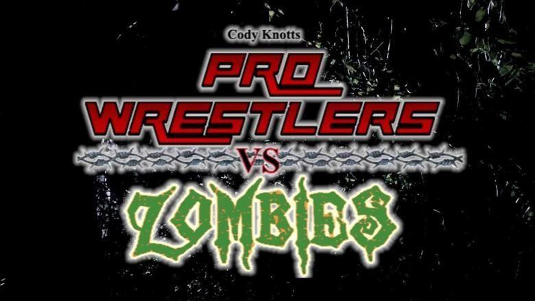 Pro Wrestlers vs Zombies movie scenes