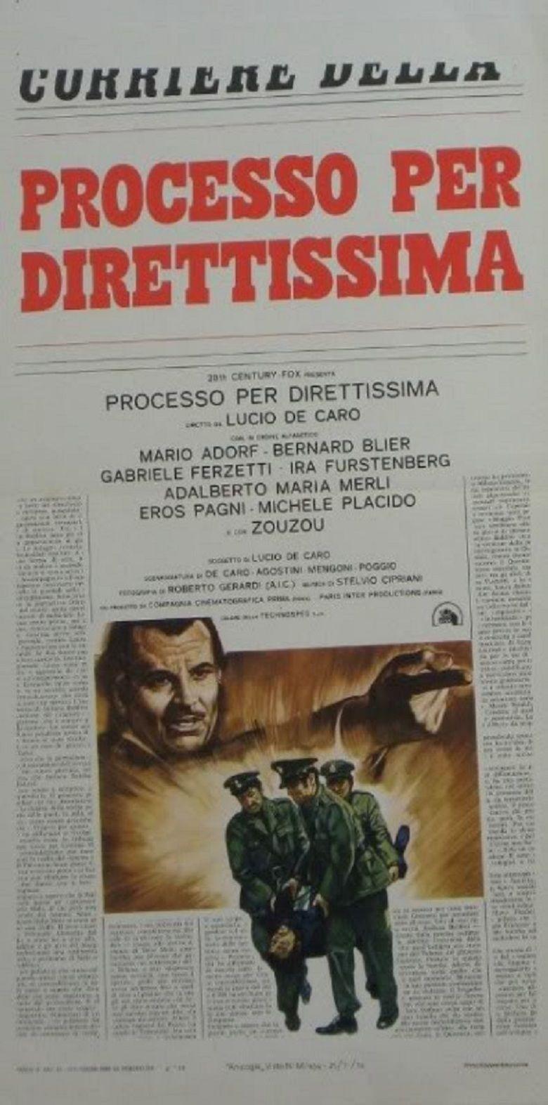 Processo per direttissima movie poster