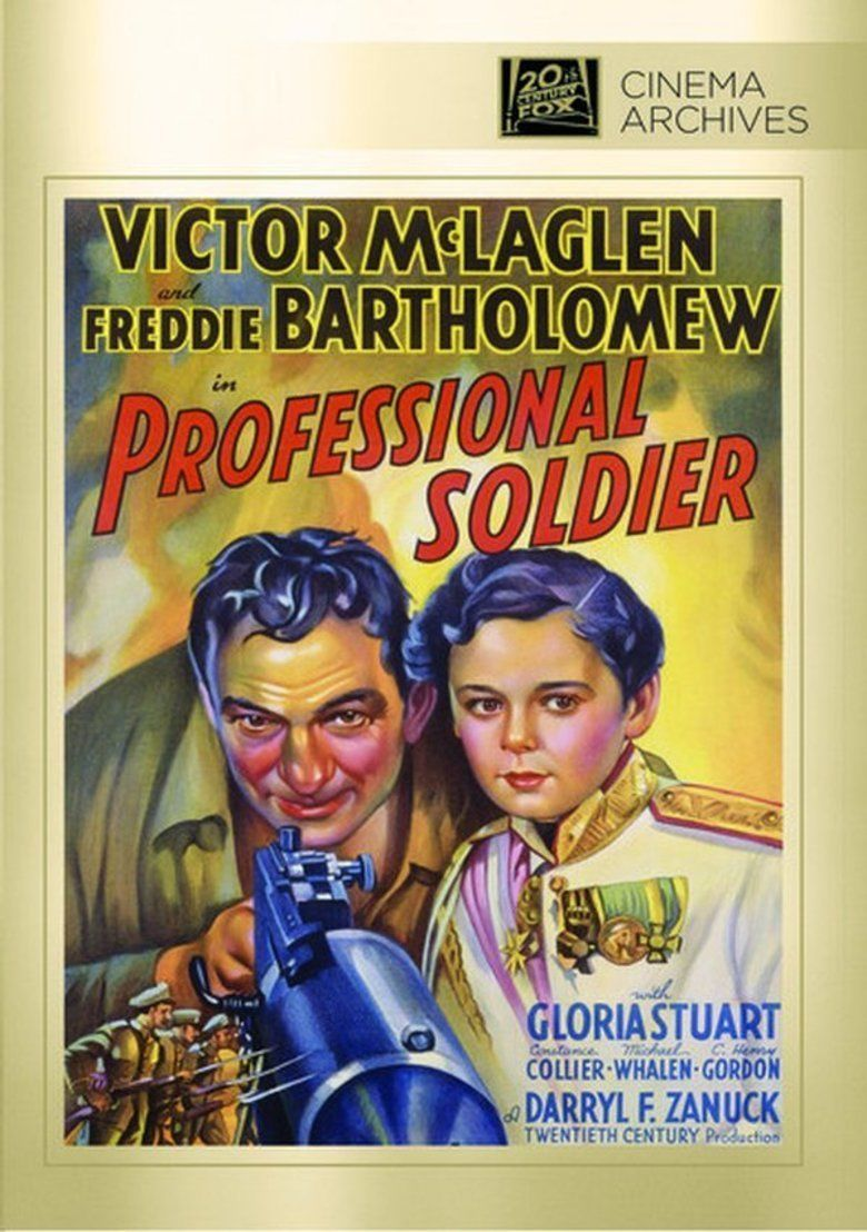 Professional Soldier (film) movie poster