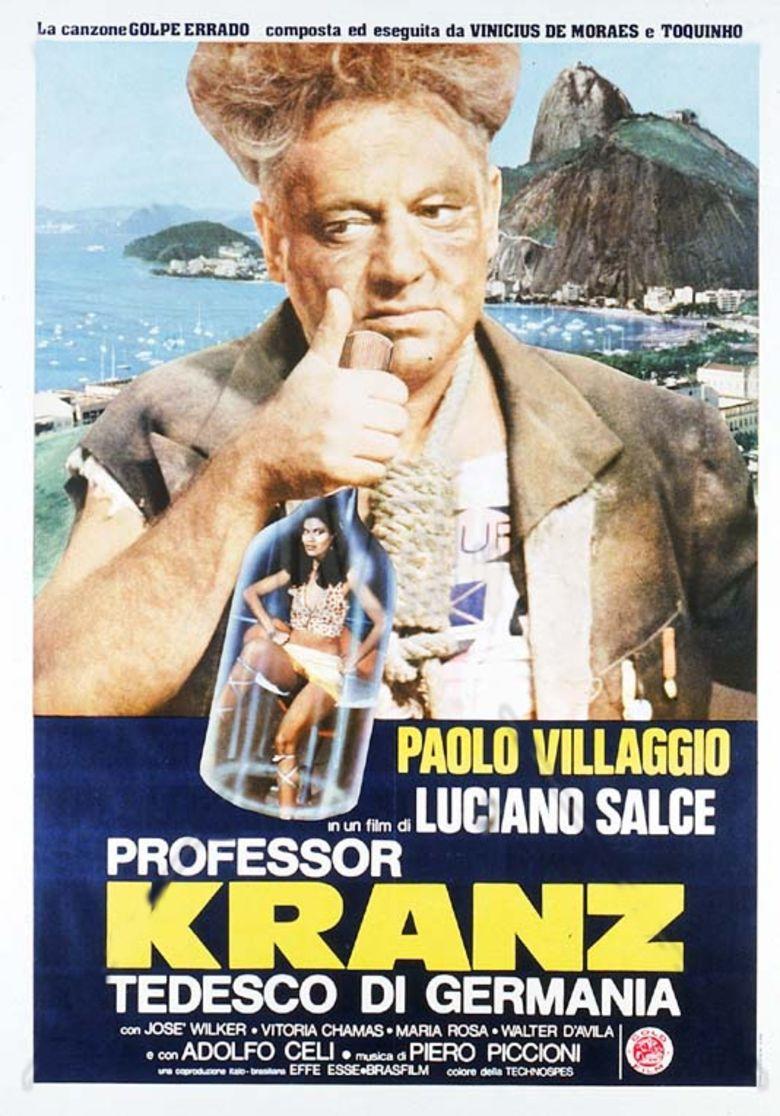 Professor Kranz tedesco di Germania movie poster