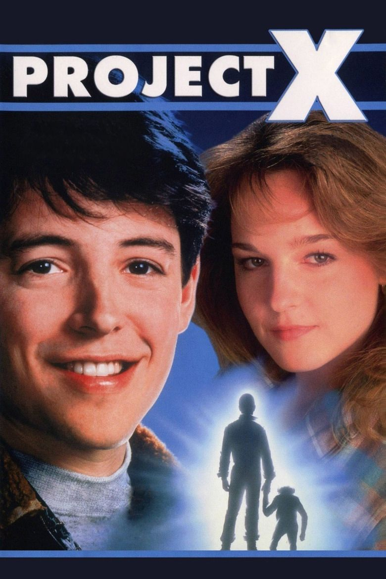 Project X (1987 film) movie poster