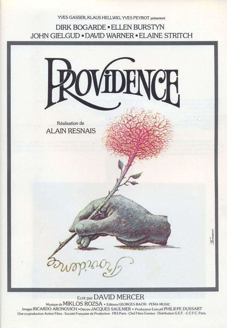 Providence (1977 film) movie poster