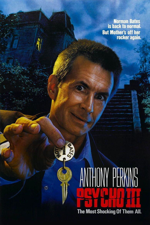 Psycho III movie poster