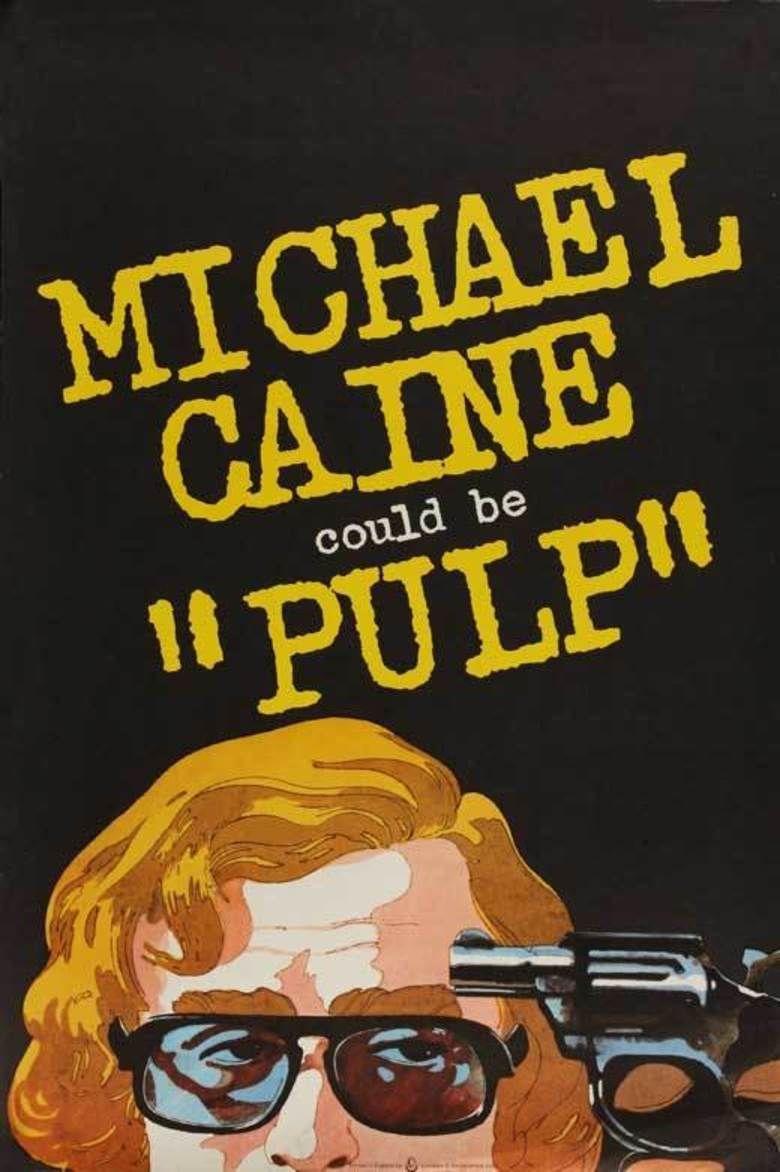 Pulp (1972 film) movie poster