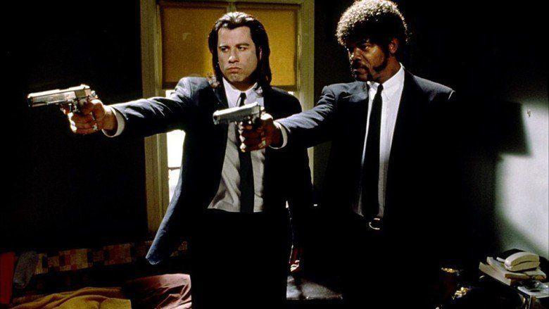 Pulp Fiction movie scenes