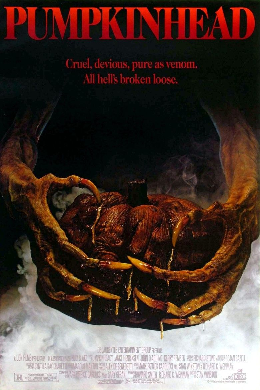 Pumpkinhead (film) movie poster