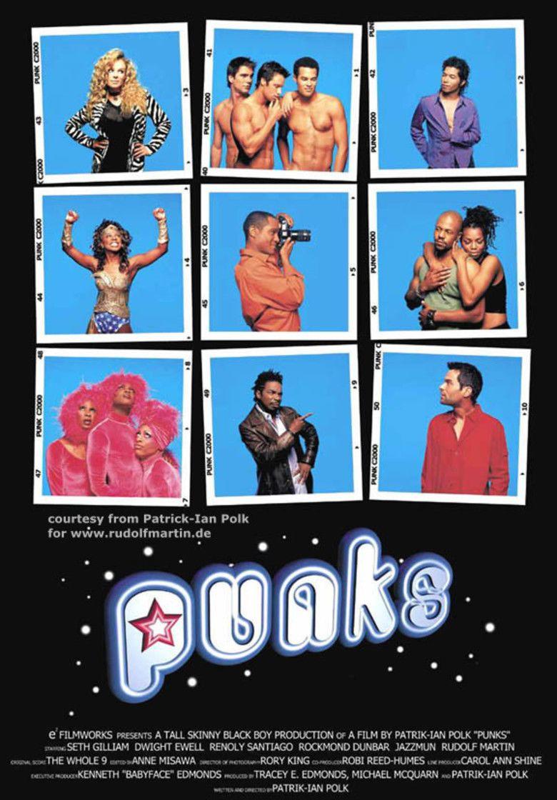 Punks (film) movie poster