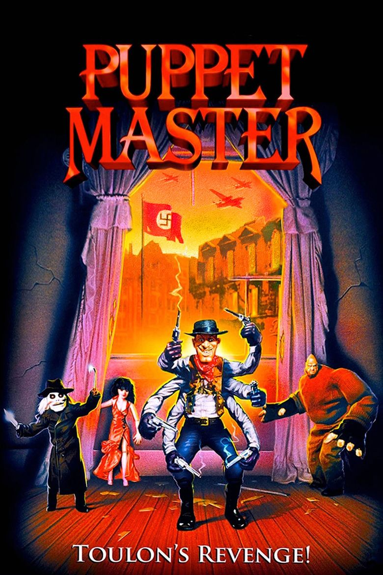 Puppet Master III: Toulons Revenge movie poster