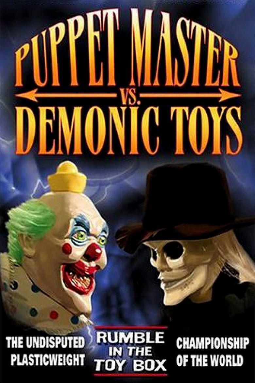 Puppet Master vs Demonic Toys movie poster