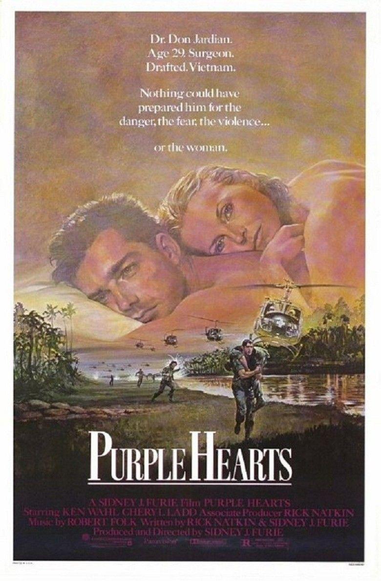 Purple Hearts (film) movie poster