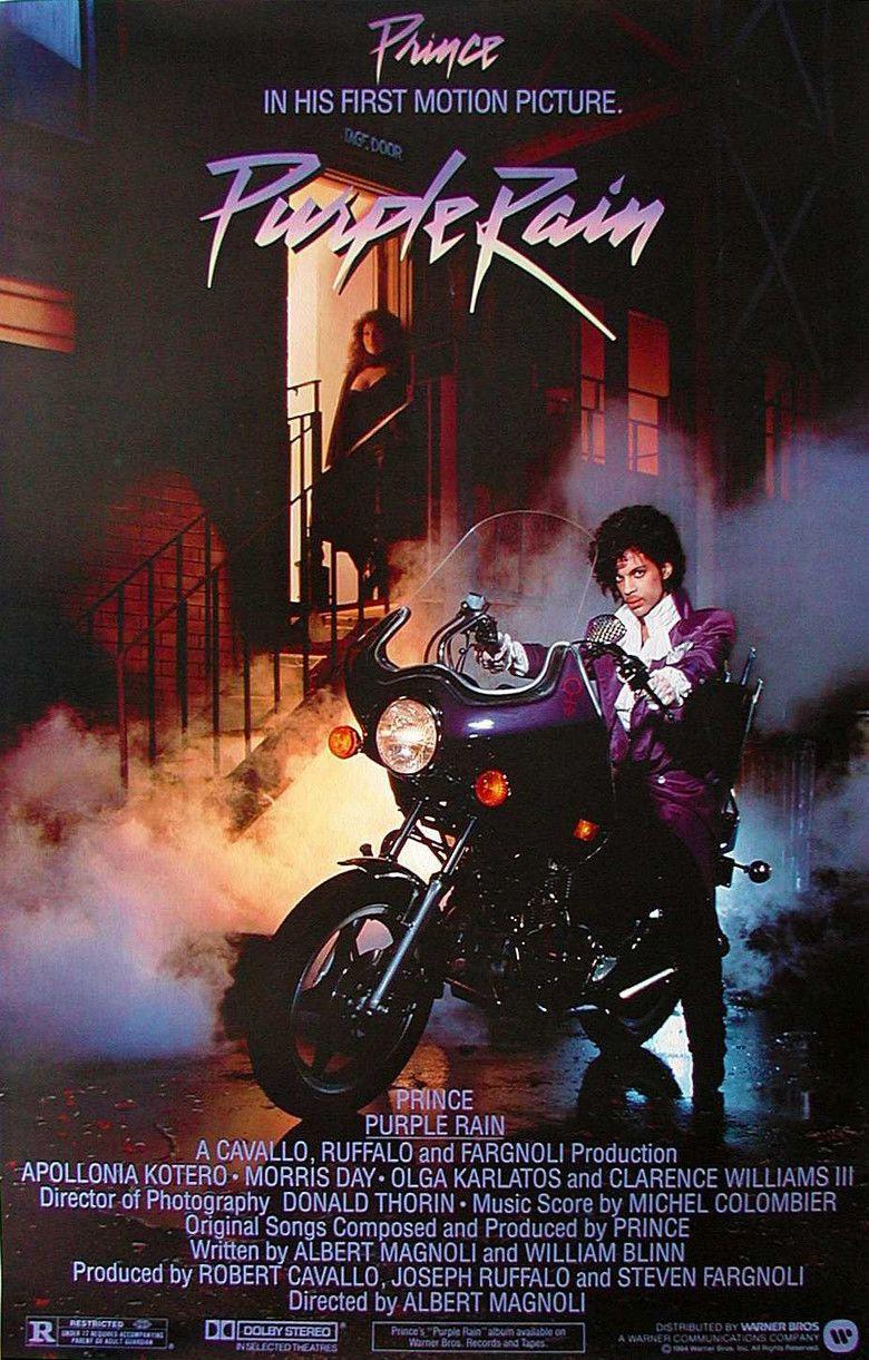Purple Rain (film) movie poster