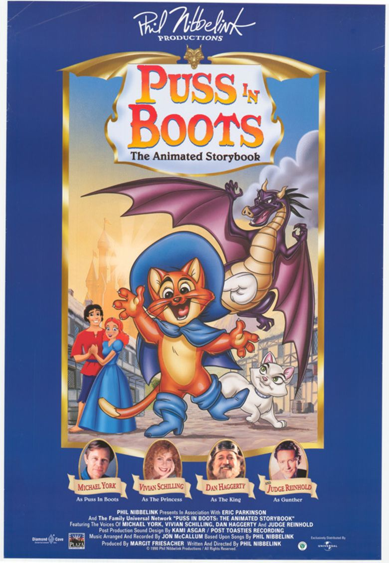 Puss in Boots (1999 film) movie poster