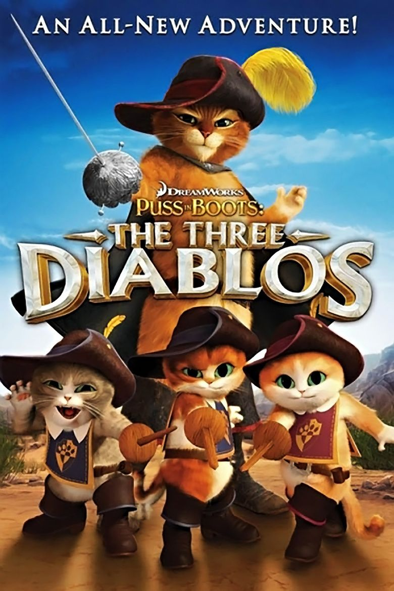 Puss in Boots: The Three Diablos movie poster