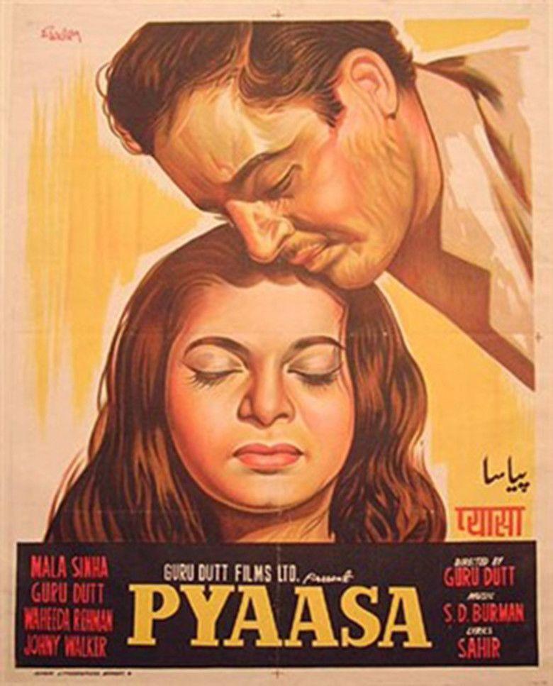 Pyaasa movie poster