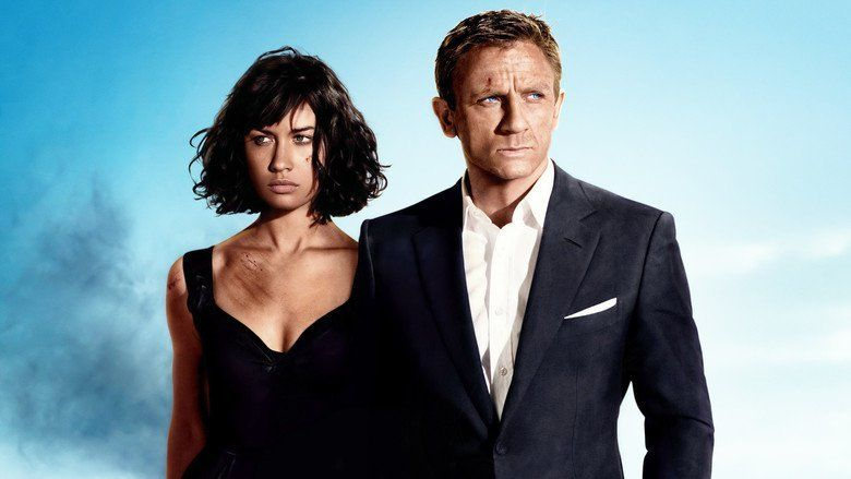 Quantum of Solace movie scenes