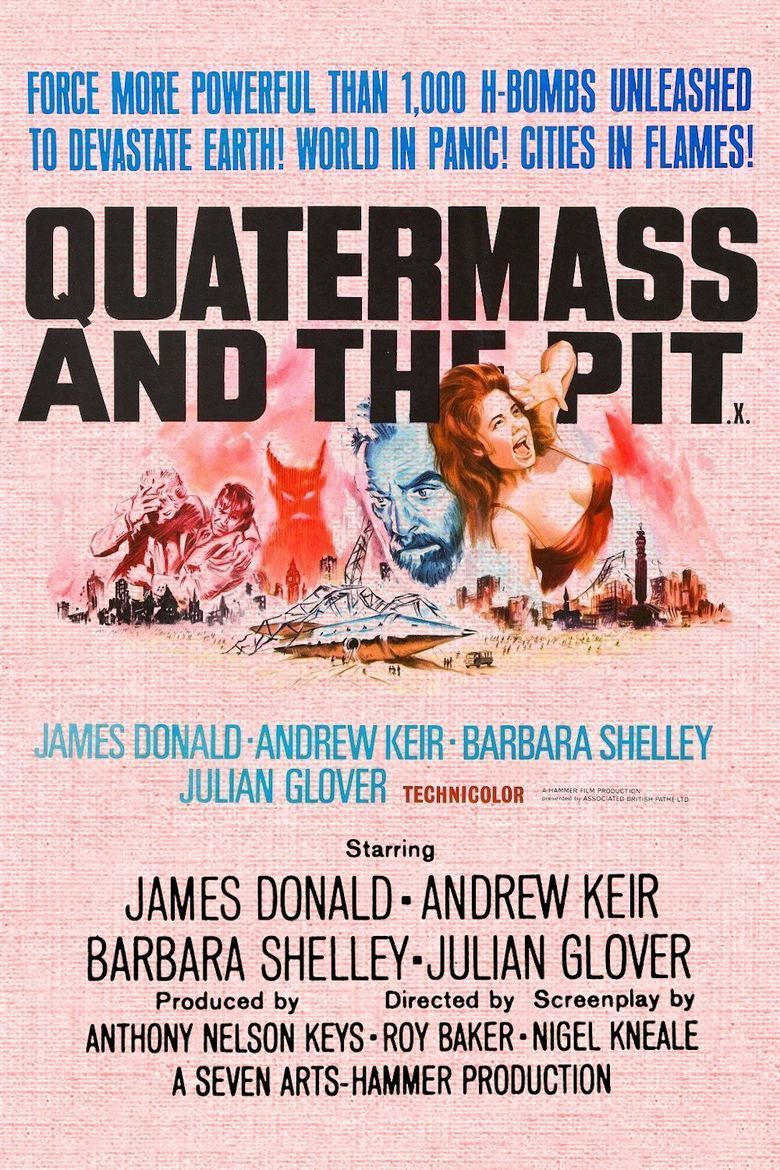 Quatermass and the Pit (film) movie poster