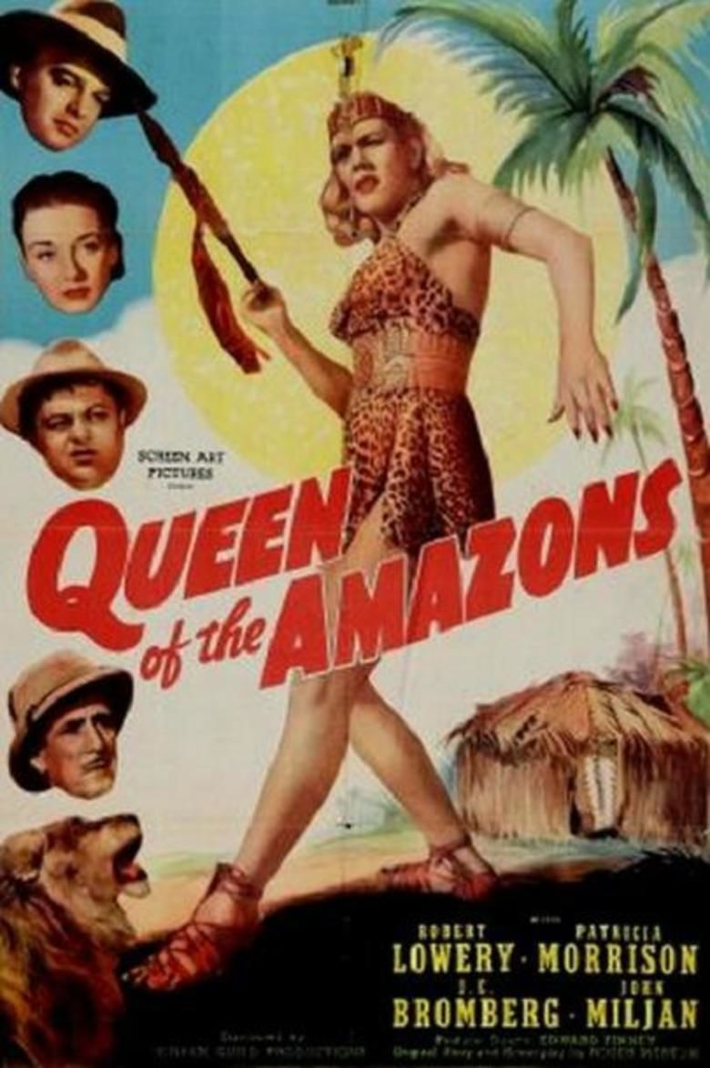 Queen of the Amazons movie poster