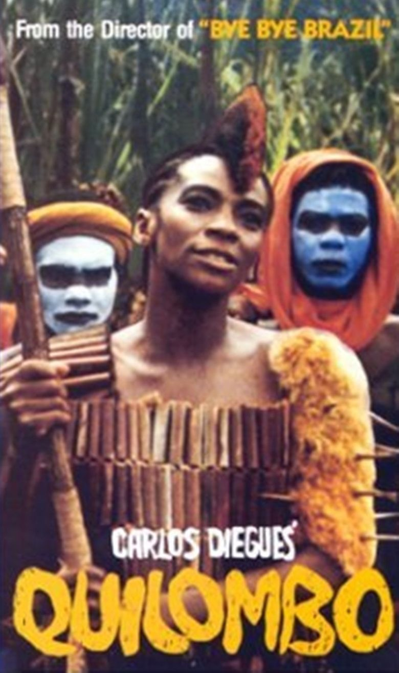 Quilombo (film) movie poster