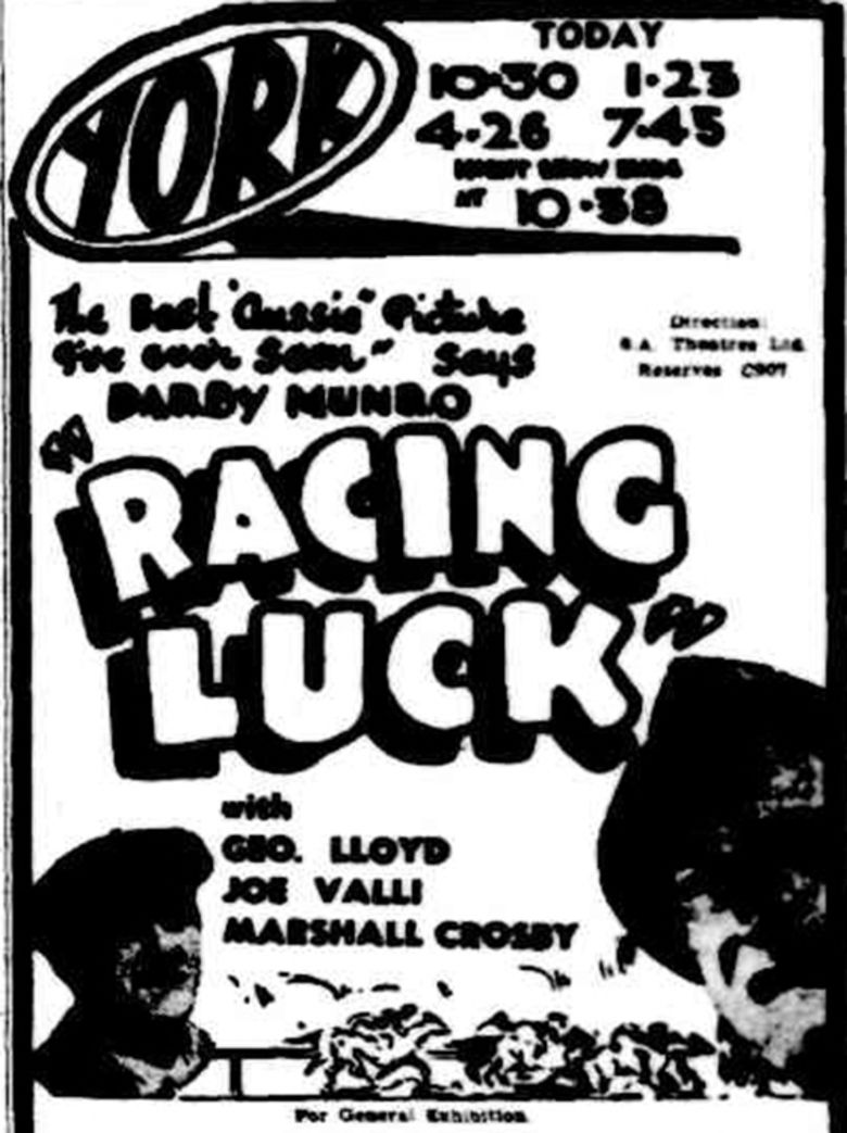 Racing Luck movie poster