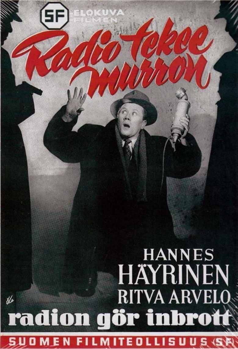 Radio tekee murron movie poster