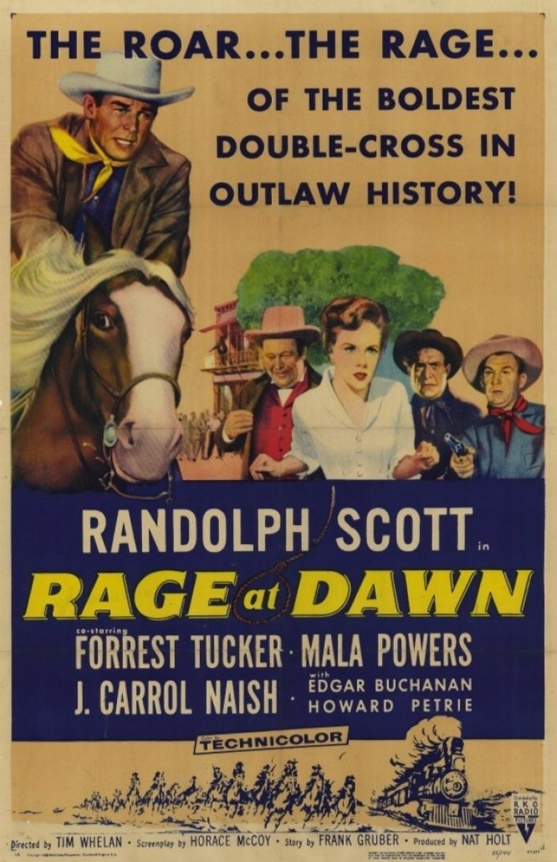 Rage at Dawn movie poster