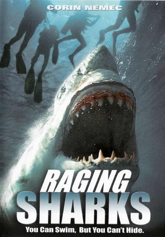 Raging Sharks movie poster