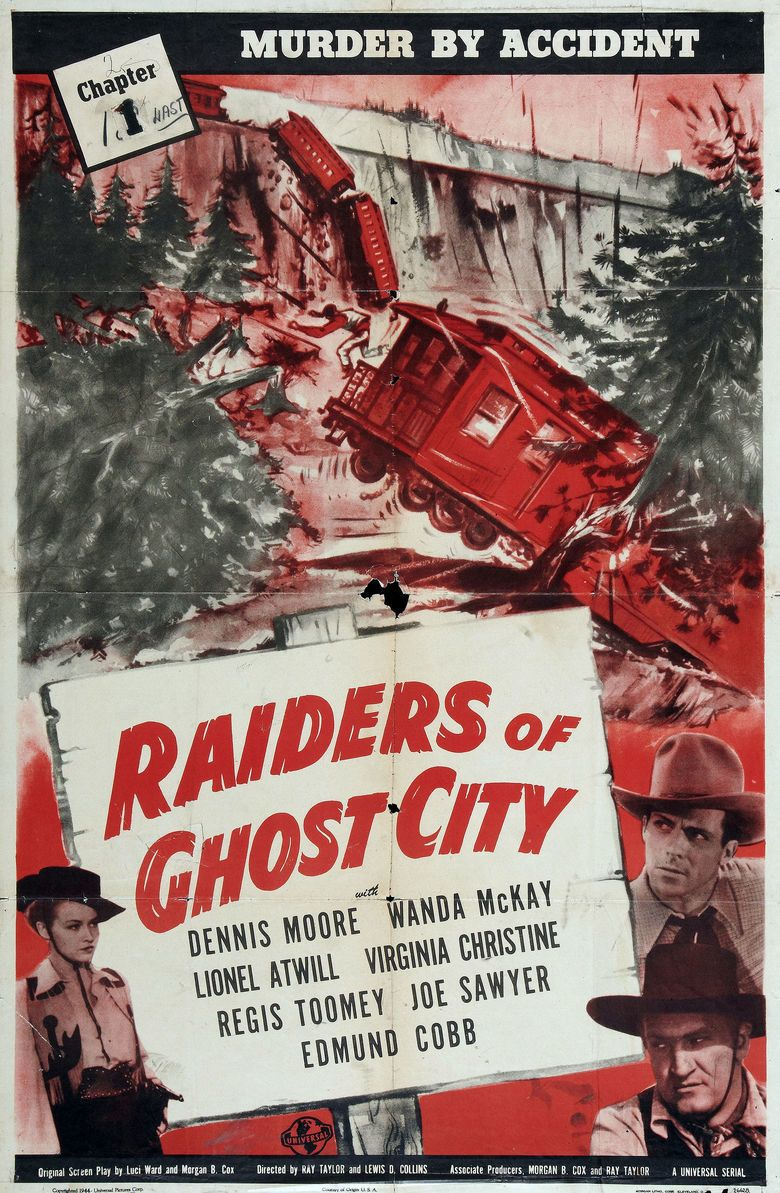 Raiders of Ghost City movie poster