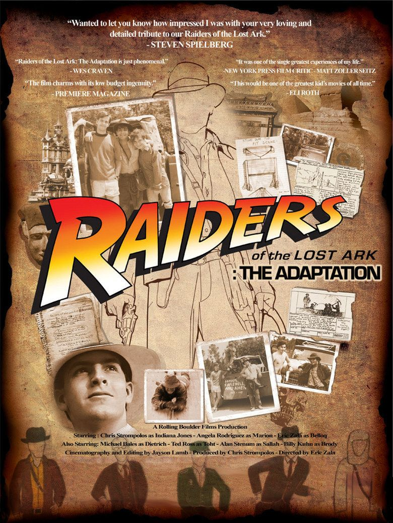 Raiders of the Lost Ark: The Adaptation movie poster