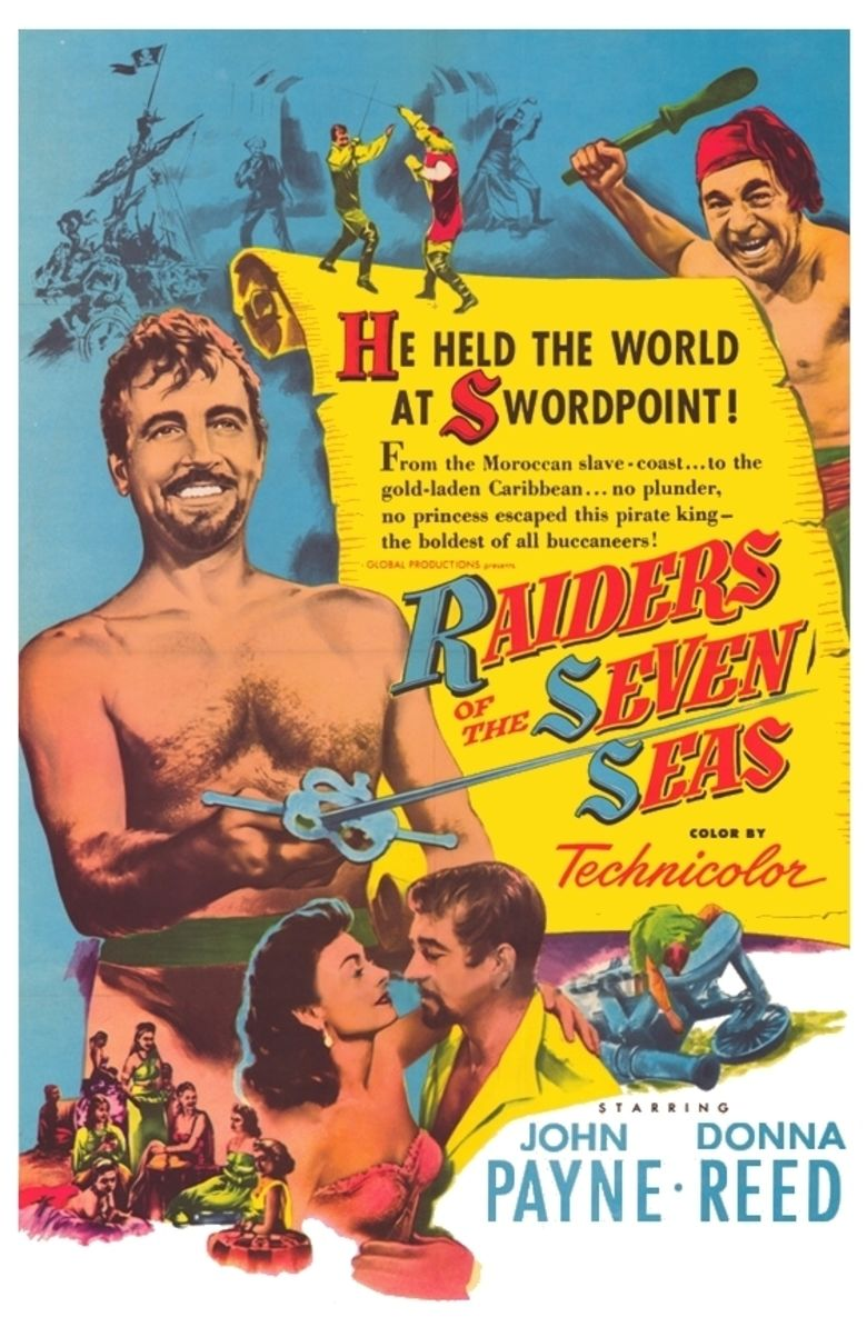 Raiders of the Seven Seas movie poster