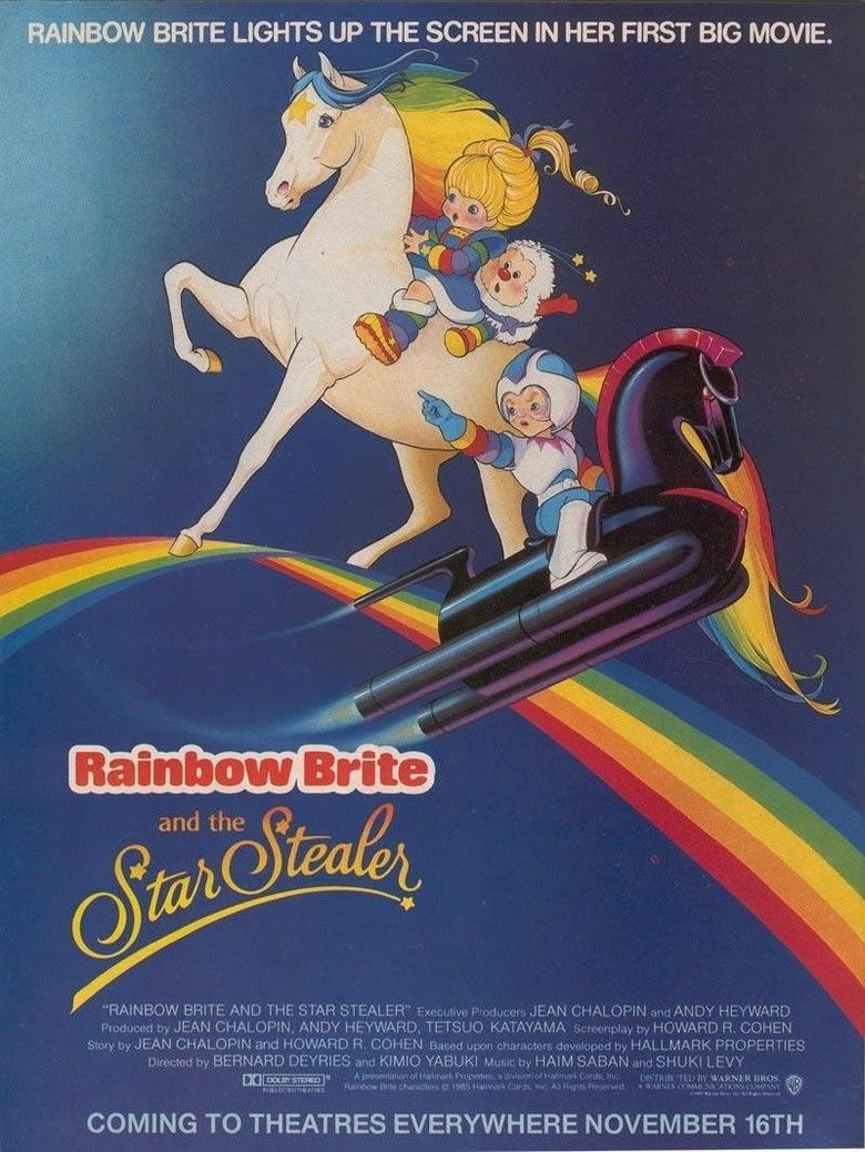 Rainbow Brite and the Star Stealer movie poster