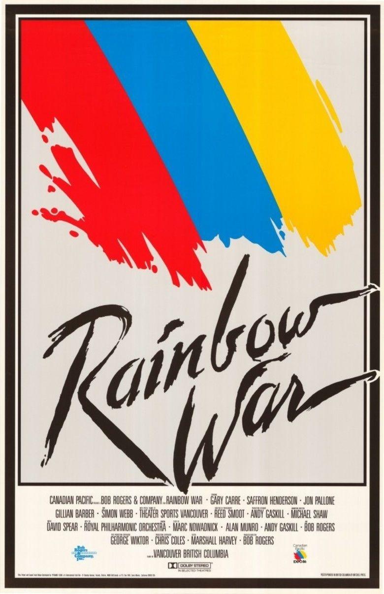 Rainbow War movie poster