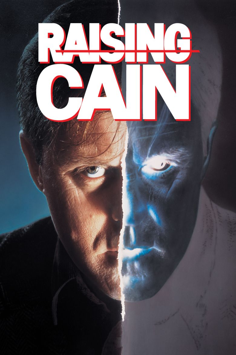 Raising Cain movie poster