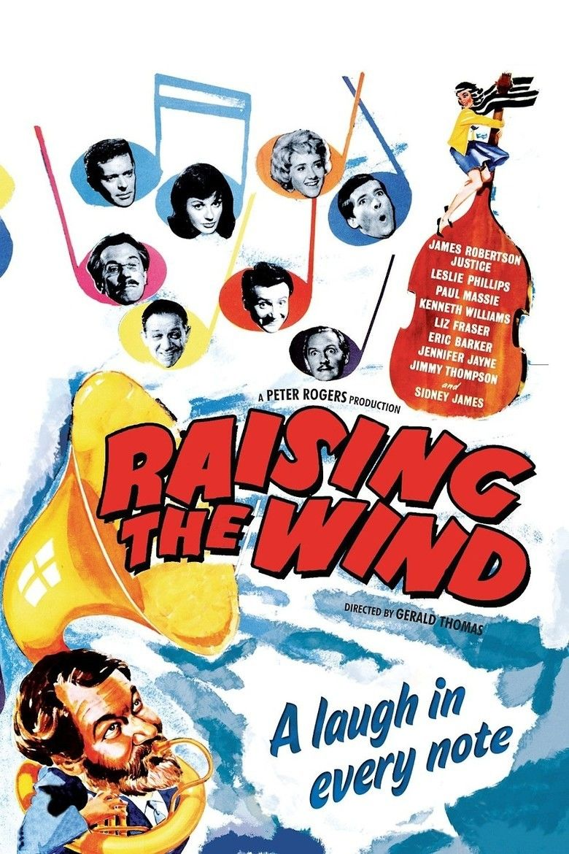 Raising the Wind (1961 film) movie poster