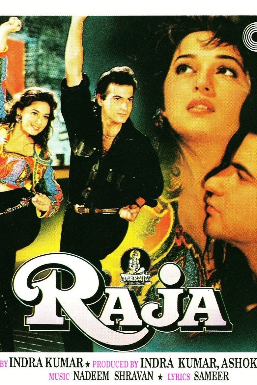 Raja (1995 film) movie poster