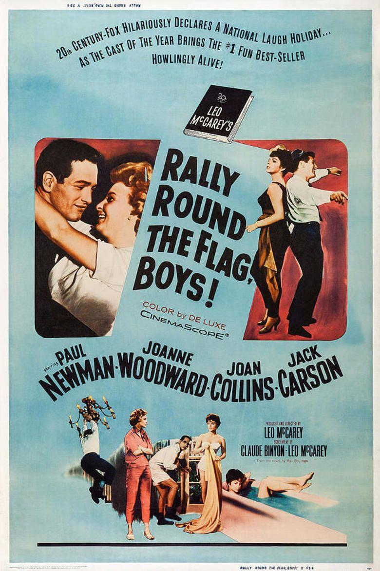 Rally Round the Flag, Boys! movie poster