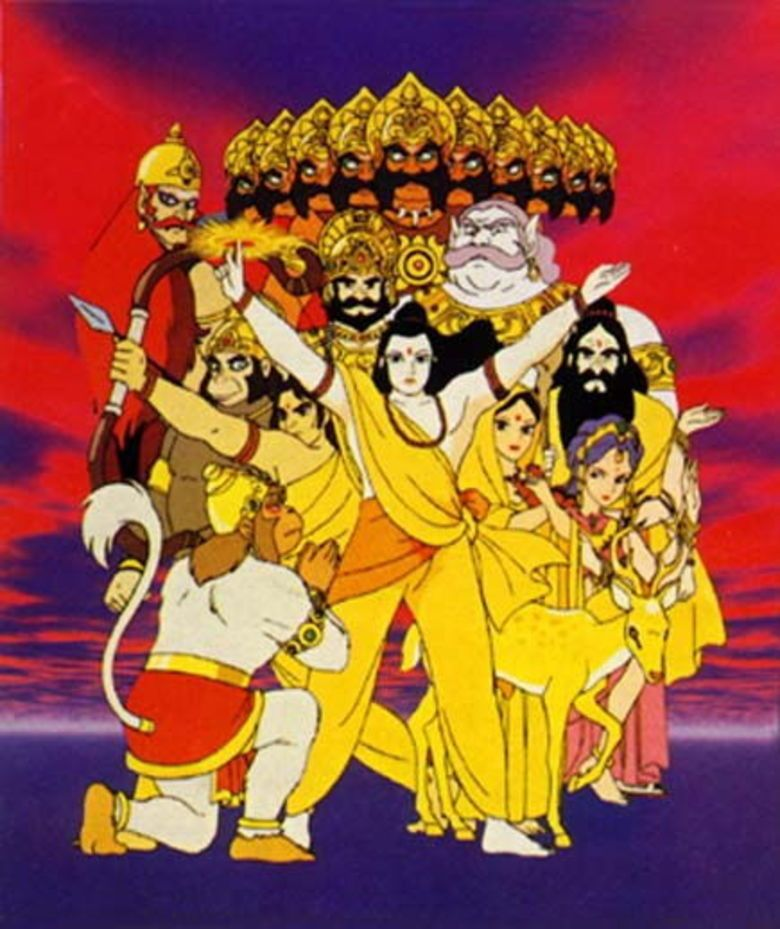 Ramayana: The Legend of Prince Rama movie poster