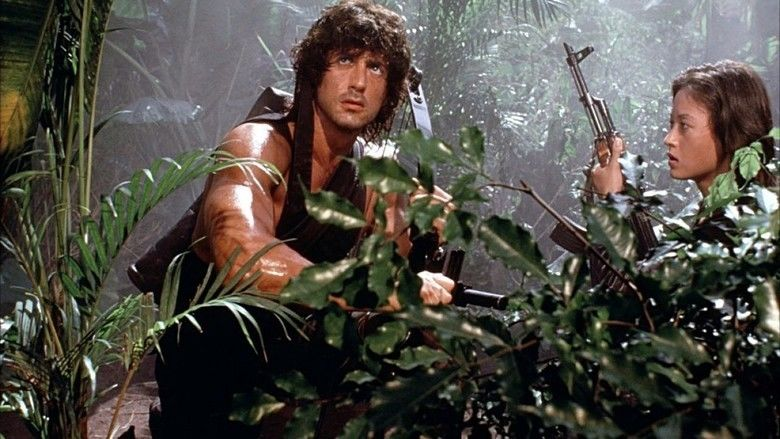Rambo: First Blood Part II movie scenes