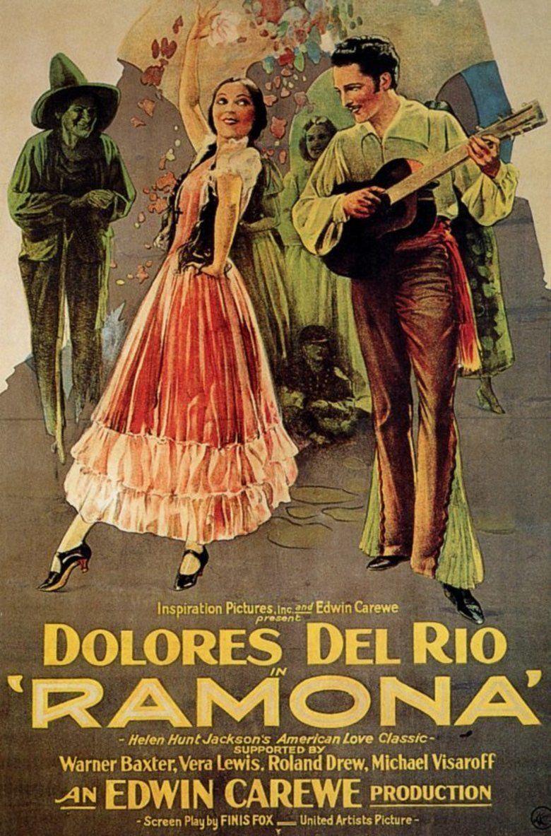 Ramona (1928 film) movie poster