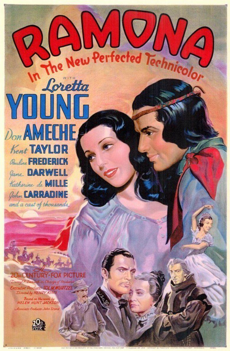 Ramona (1936 film) movie poster